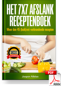 Ervaring 7X7 Afslank receptenboek